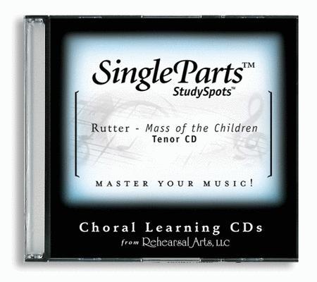 Mass of the Children (CD only - no sheet music)