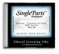A Ceremony of Carols - SATB (CD only - no sheet music)