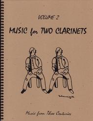 Music for Two Clarinets, Volume 2