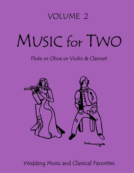 Music for Two, Volume 2 - Flute/Oboe and Clarinet