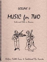 Music for Two, Volume 4 - Viola and Cello/Bassoon