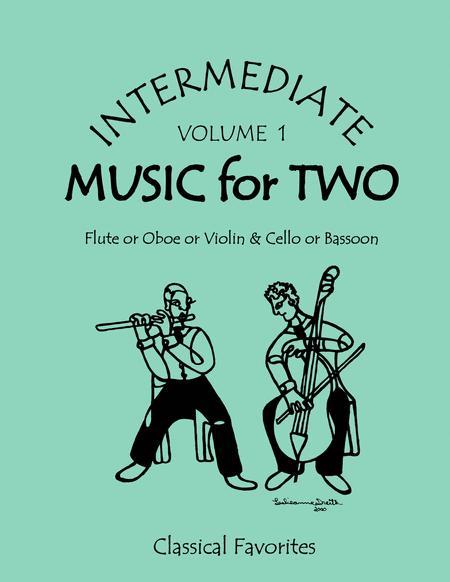 Intermediate Music for Two, Volume 1
