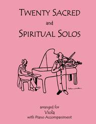 20 Sacred and Spiritual Solos for Viola