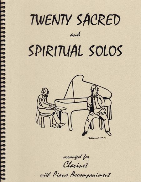 20 Sacred and Spiritual Solos for Clarinet