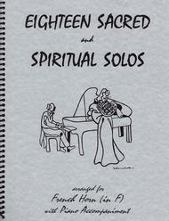 18 Sacred and Spiritual Solos for French Horn