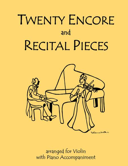 20 Encore and Recital Pieces for Violin and Piano