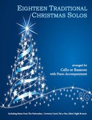 18 Traditional Christmas Favorites for Cello/Bassoon and Piano