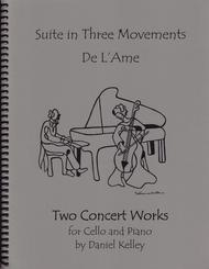 Two Concert Works for Cello and Piano