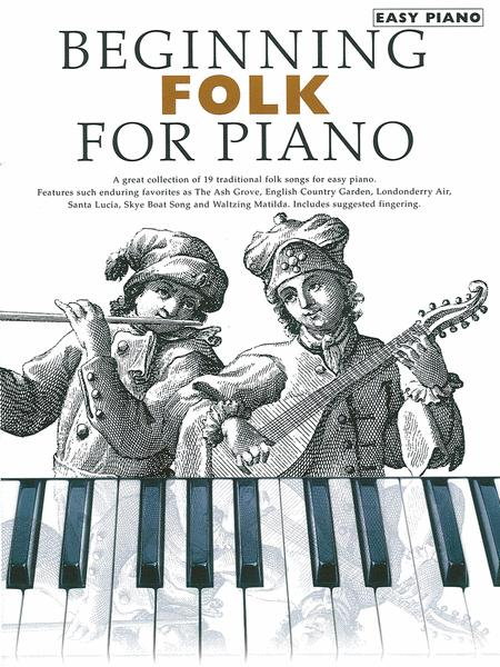 Beginning Folk for Piano