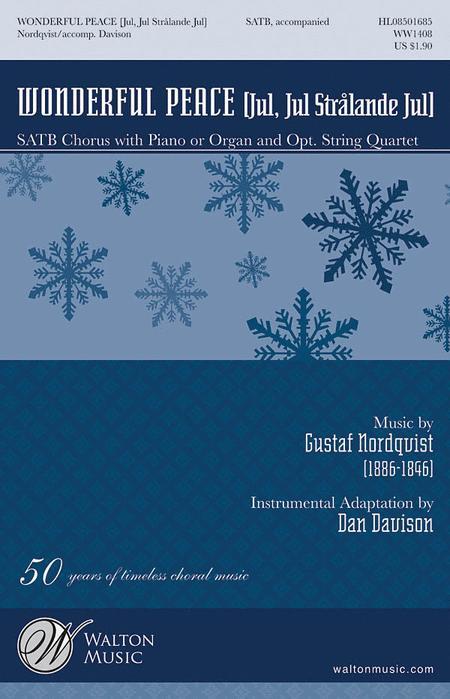 Wonderful Peace (Vocal Score)