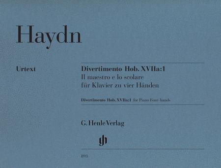 Divertimento Hob. XVIIa:1 for piano, 4-hands