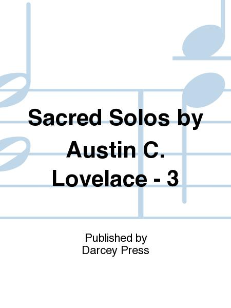 Sacred Solos by Austin C. Lovelace - 3