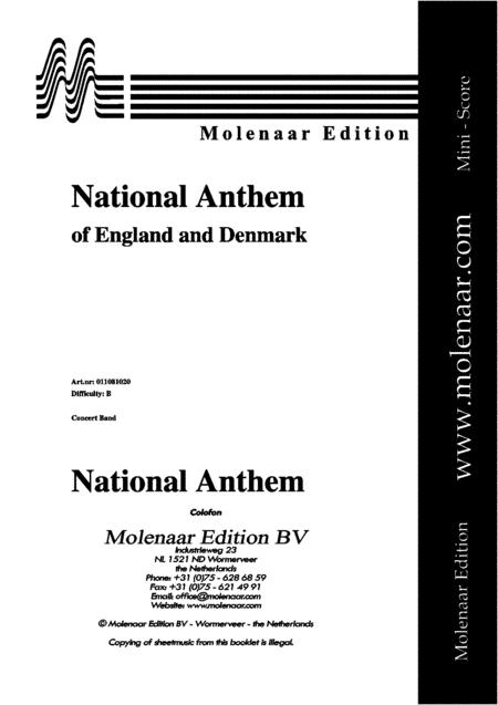 Preview National Anthem Of England And Denmark (ML 011081020
