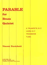 PARABLE FOR BRASS QUINTET
