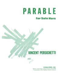 PARABLE FOR SOLO HORN