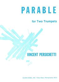 PARABLE FOR TWO TRUMPETS
