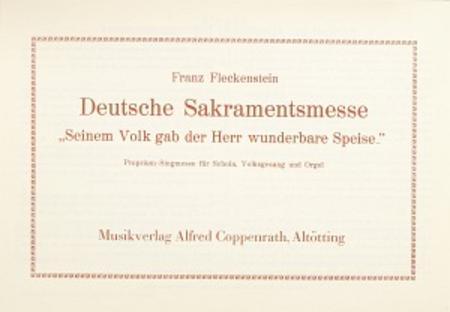 Deutsche Sakramentsmesse