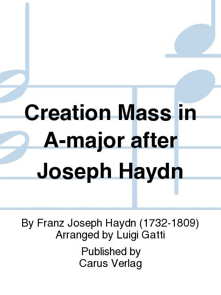 Creation Mass in A-major after Joseph Haydn (Schopfungsmesse in A nach Joseph Haydn)