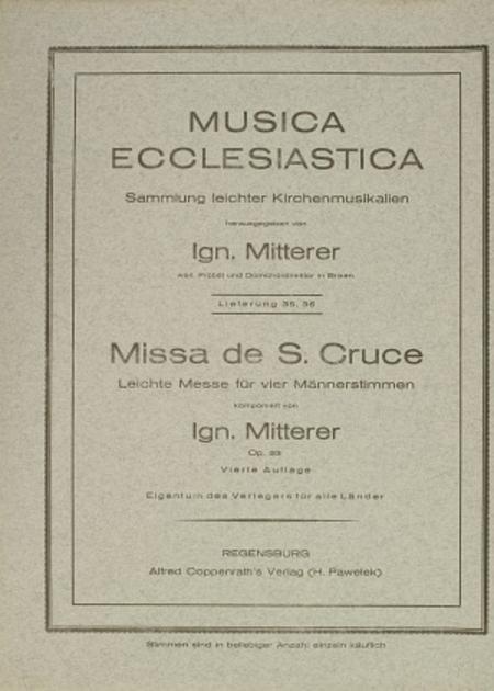 Missa de S. Cruce