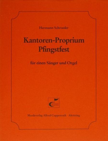 Kantoren-Proprium Pfingstfest