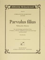 Christmas Motet (Parvulus filius)