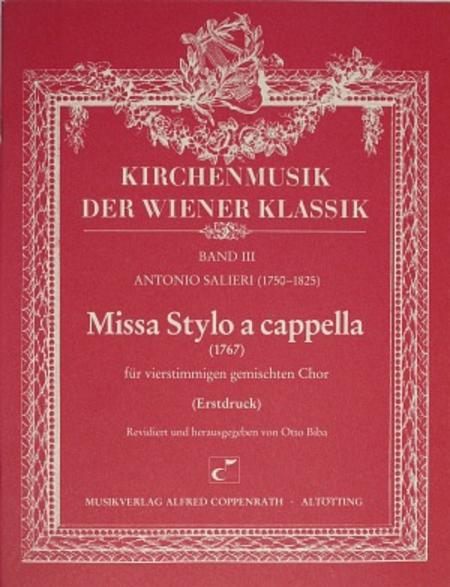 Missa Stylo a cappella
