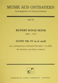 Suite Nr. IV in d-Moll