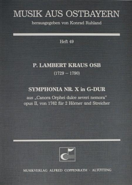 Symphonia Nr. X in G-Dur