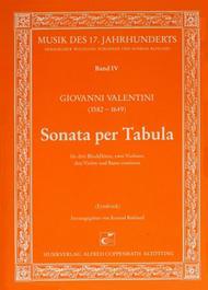 Sonata per Tabula