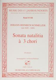 Sonata natalitia a 3 chori