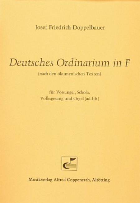Deutsches Ordinarium