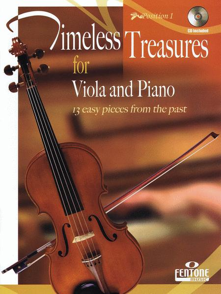 Timeless Treasures for Viola and Piano