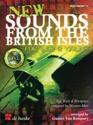New Sounds From The British Isles For 1 Or 2 Violins Bk/cd