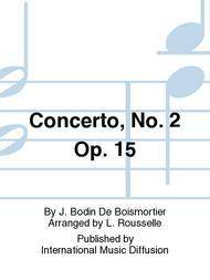 Concerto, No. 2 Op. 15