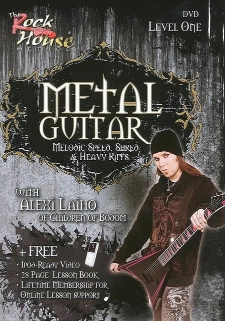 Alexi Laiho of Children of Bodom - Metal Guitar