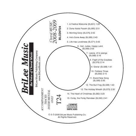 Accompaniment Track CD #24