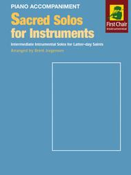 Sacred Solos for Instruments - Piano Accompaniment