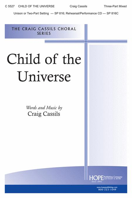 Child Of The Universe Sheet Music By Craig Cassils Sheet Music Plus