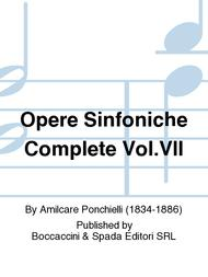 Opere sinfoniche complete Vol.VII