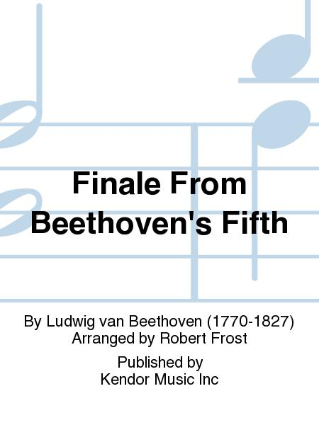 Finale From Beethoven's Fifth