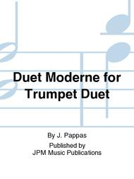 Duet Moderne for Trumpet Duet