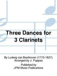 Three Dances for 3 Clarinets