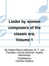 Lieder by women composers of the classic era, Volume 1