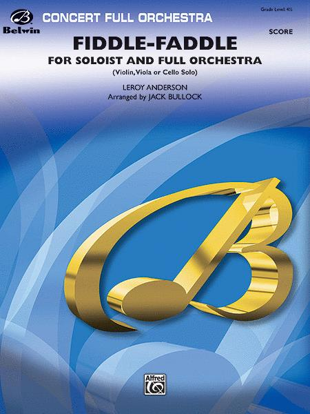 Fiddle-Faddle for Soloist and Full Orchestra (score only)