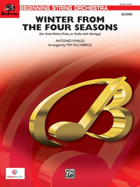 Winter from The Four Seasons (score only)