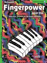 Schaum Fingerpower, Level One (Book and CD)