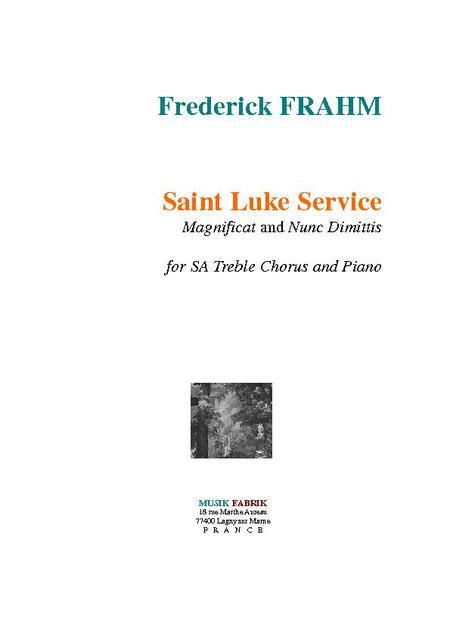 St. Luke Service (
