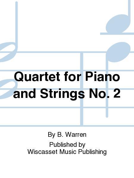 Quartet for Piano and Strings No. 2