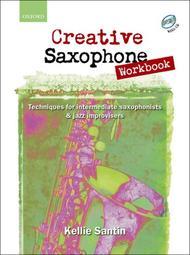 Creative Saxophone Workbook (book and CD)