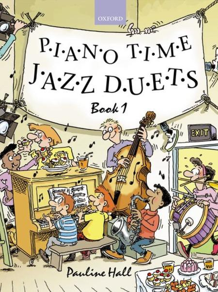 Piano Time Jazz Duets - Book 1